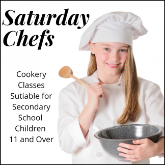 Saturday Chefs (ages 11+)